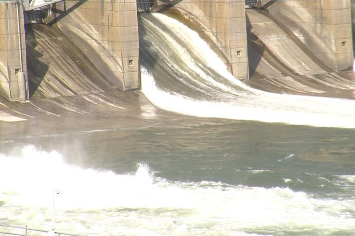 Gavins Point Dam Opens Up Spillway_6679931417149918462