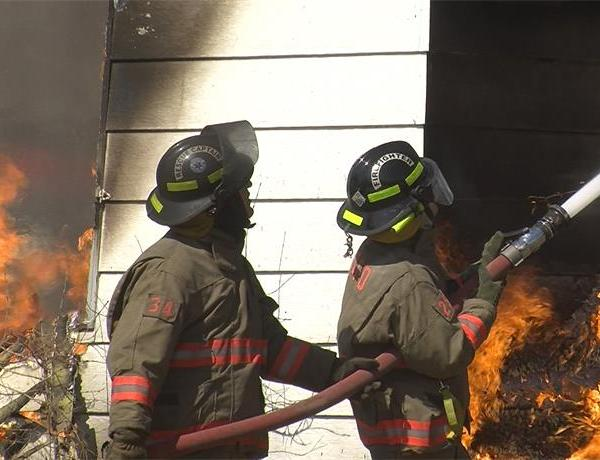 Volunteer Firefighters Participate In Live Training Session_-4765784054837261765