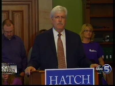 Hatch Calls for Medical Marijuana_4679151943643316793