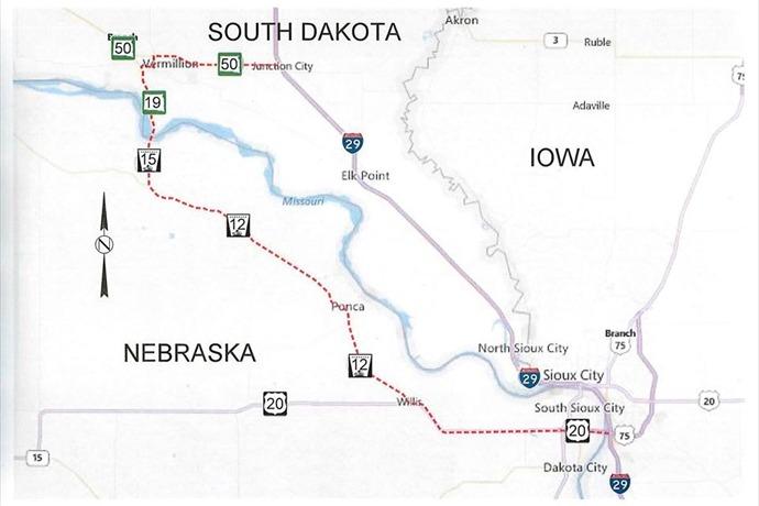 I-29 Detour Map_-7190469182191615985