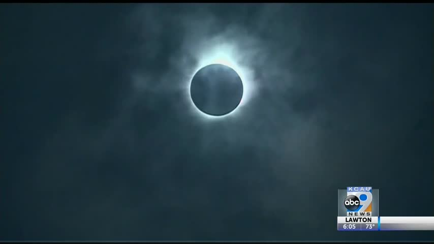 Unexpected results from solar eclipse