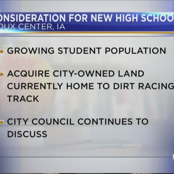 Sioux Center Considering New High School