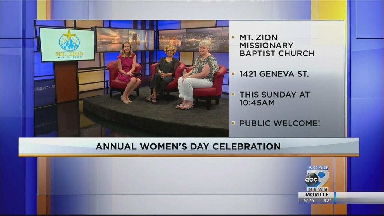 Annual Women's Day Celebration
