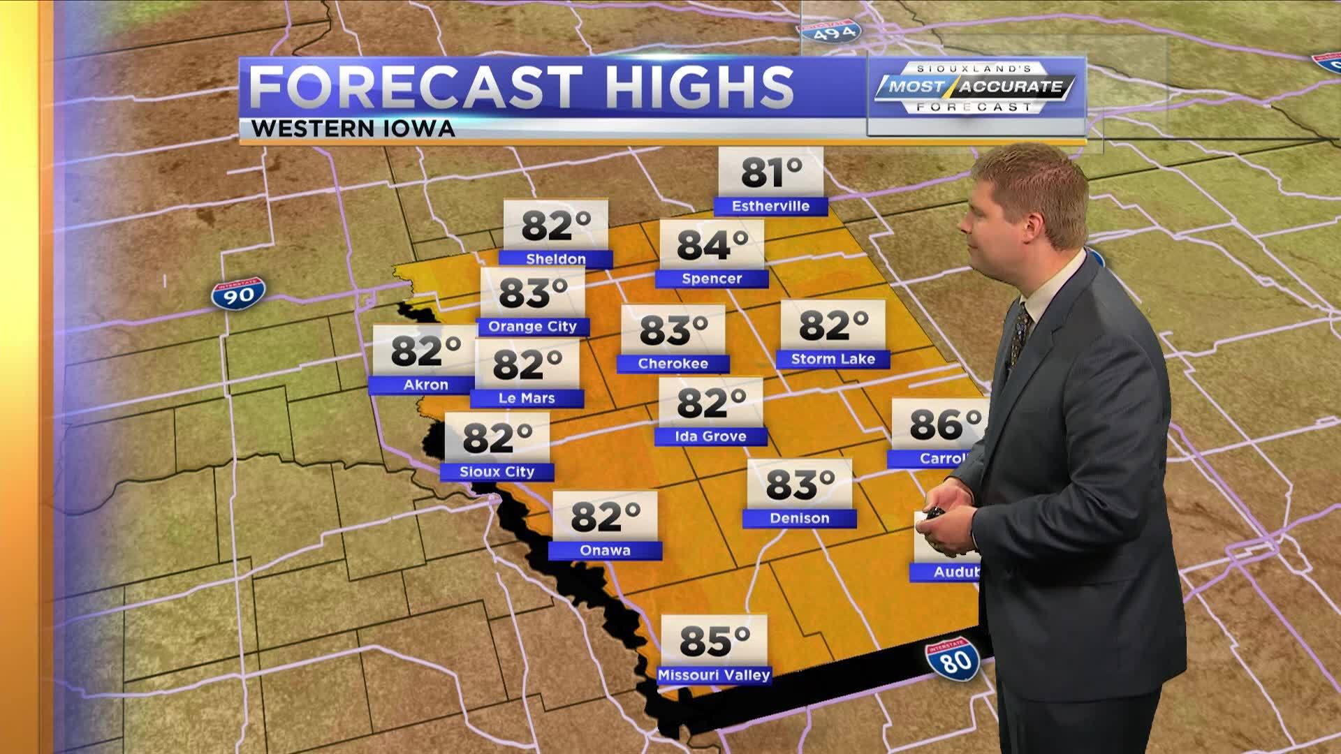 Morning Forecast - Iowa: Sep 13, 2018