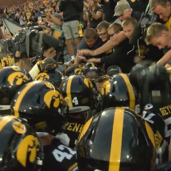 Iowa beats ISU