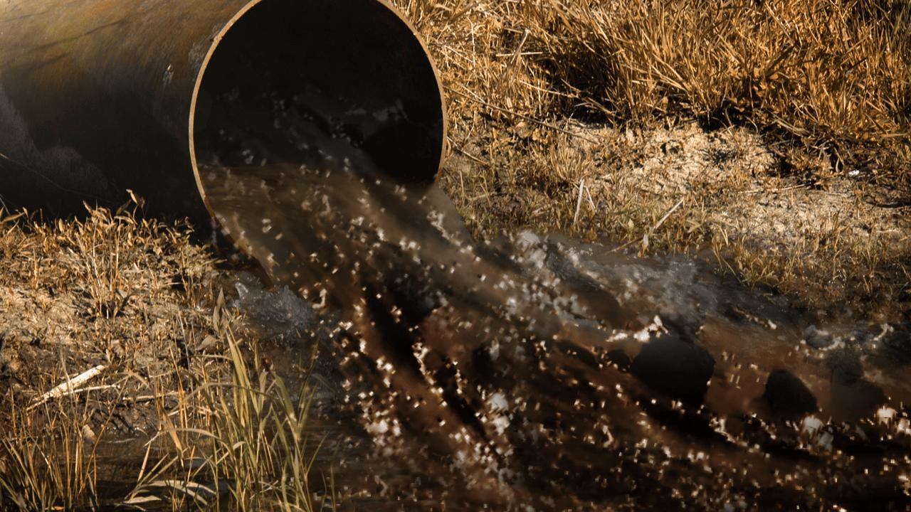 Sewage discharge, wastewater