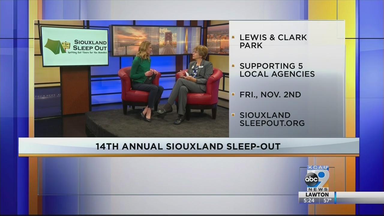 Interview - 14th Annual Siouxland Sleep-Out