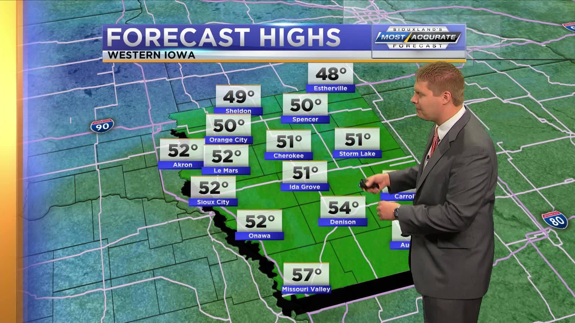 Morning Forecast  - Iowa: Oct 4, 2018