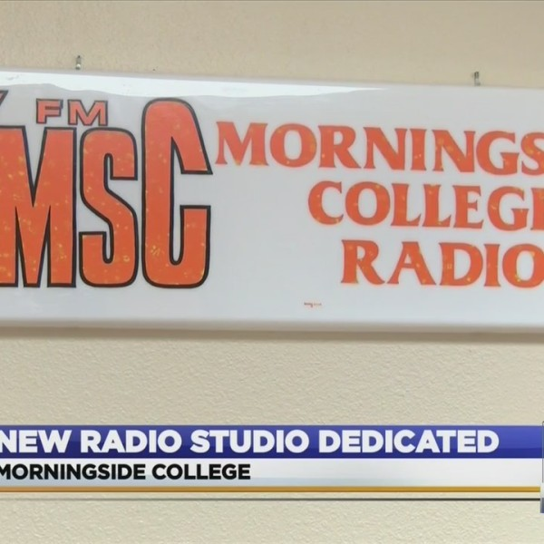 Morningside's Newly Renovated Radio Studio Dedicated