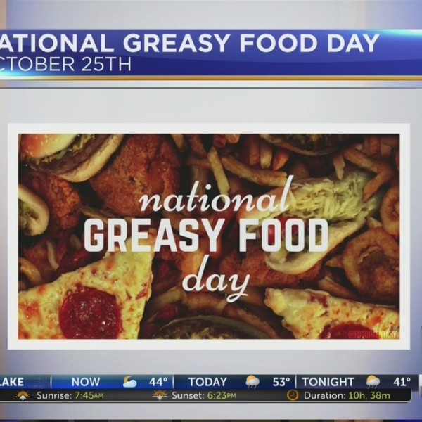 National Greasy Food Day