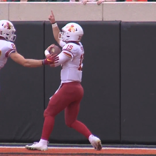 Iowa State downs Oklahoma State