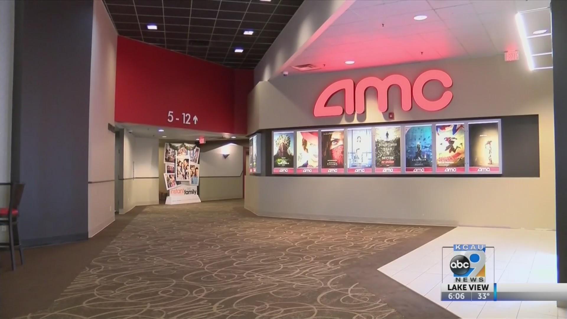 AMC theatre renovated