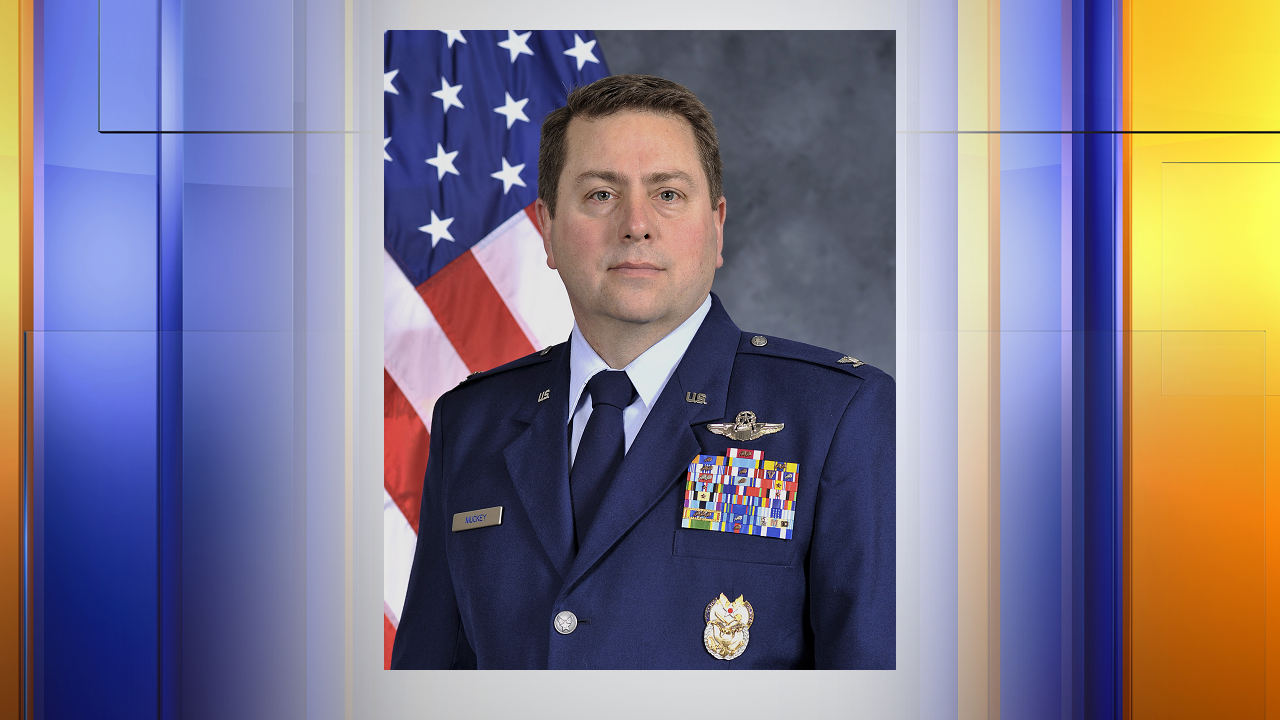 Colonel Mark Muckey -- Photo by Air Force kcaubg