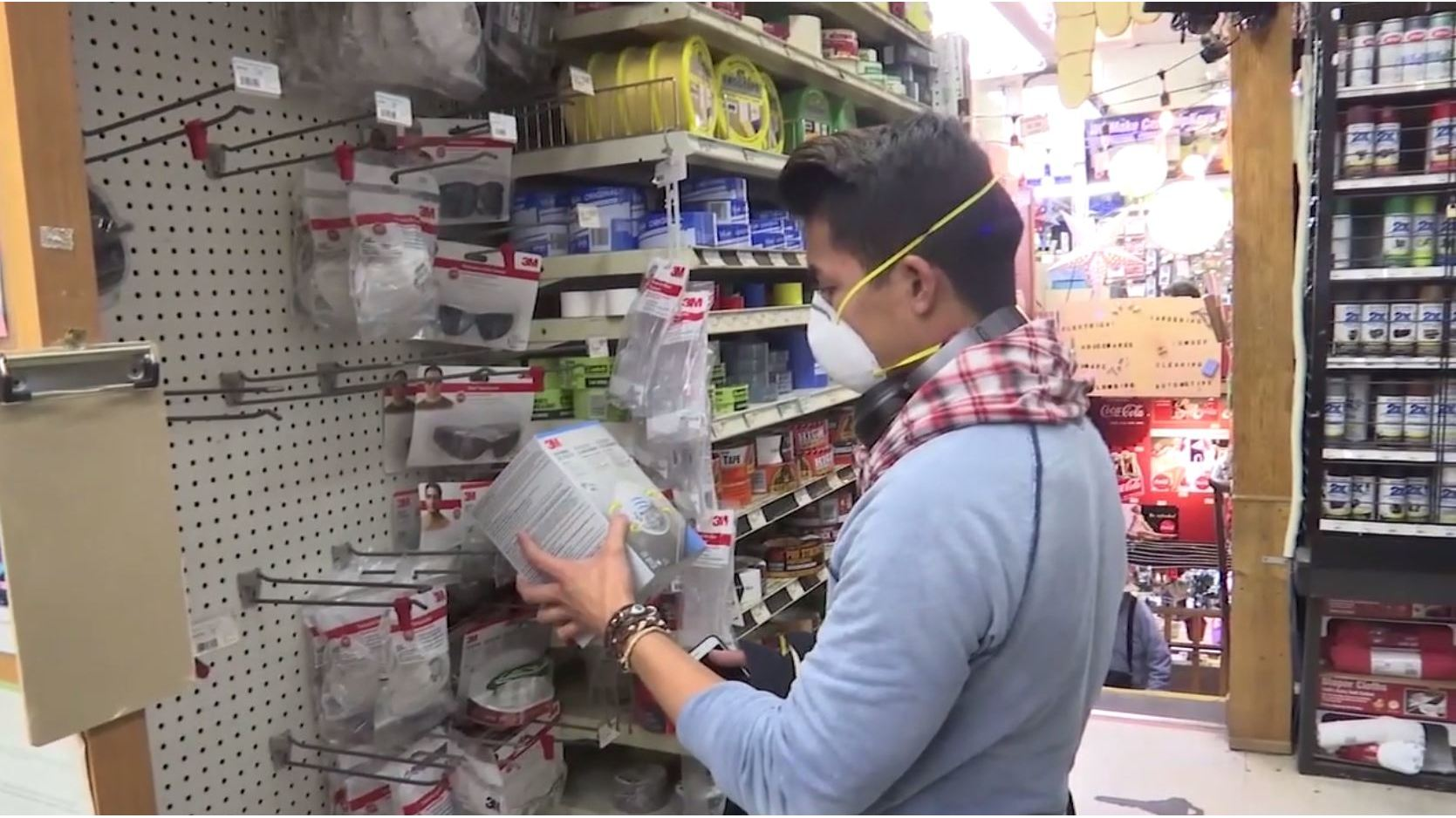 High demand for face masks amid bad air quality in California Bay Area
