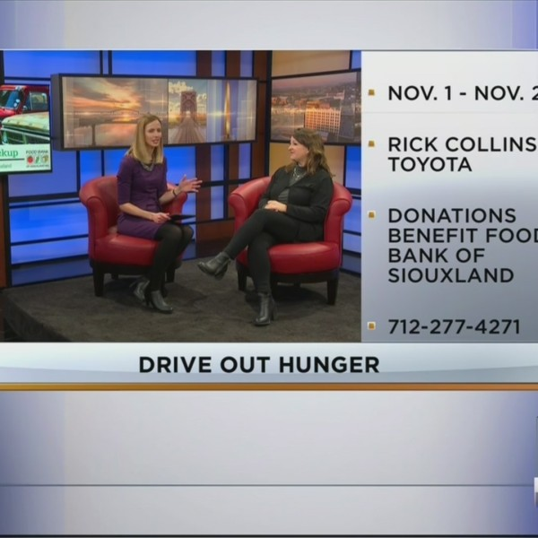 Interview For Drive Out Hunger