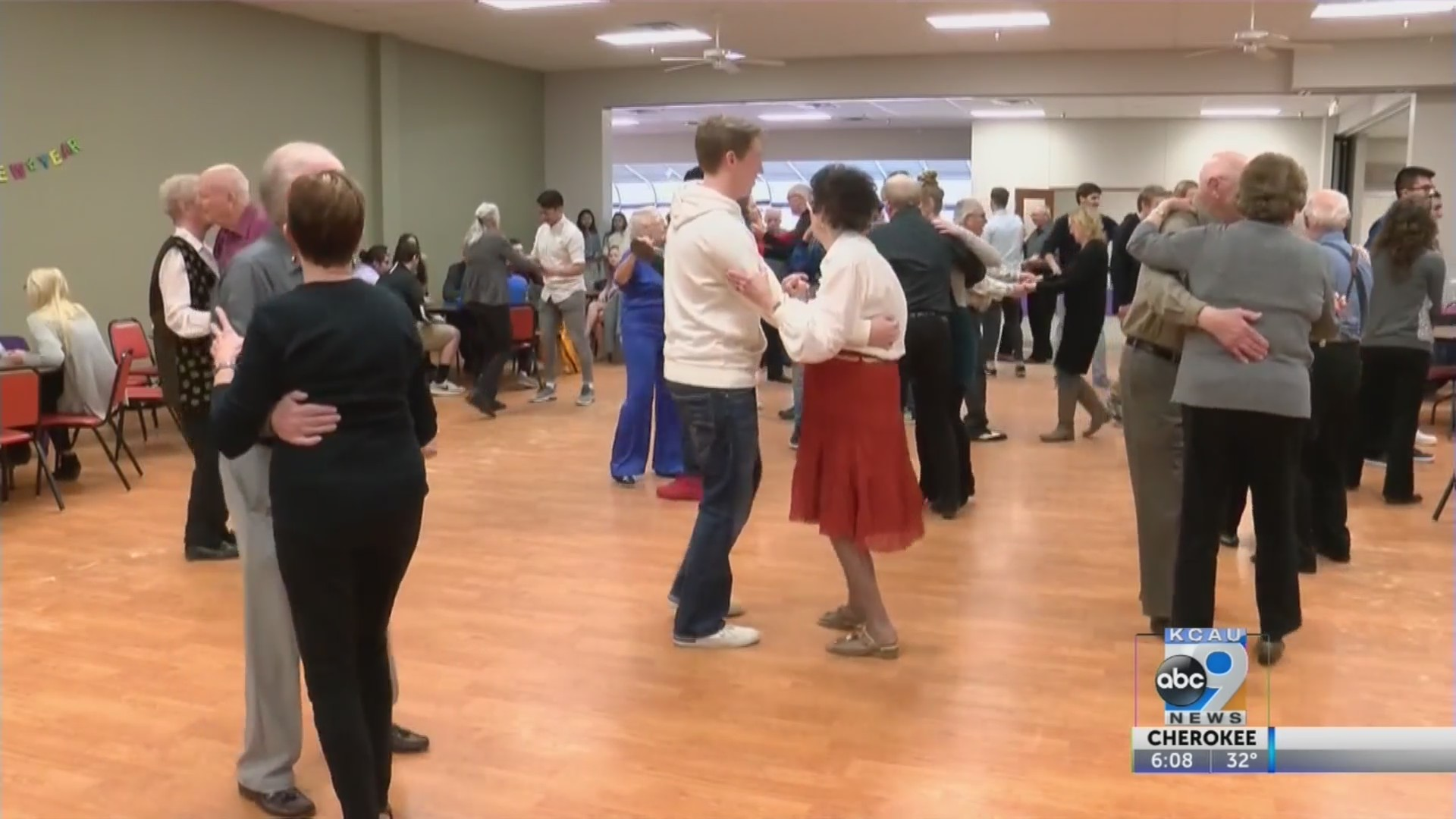 Briar Cliff Volunteers for Senior Citizens Dance