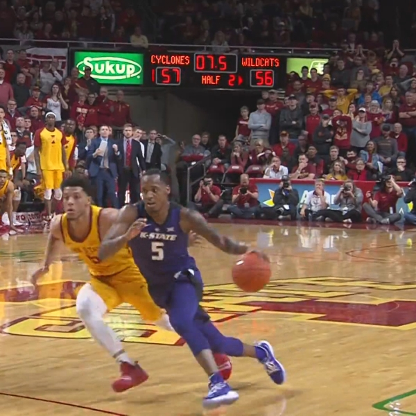 Iowa State Falls to Kansas State