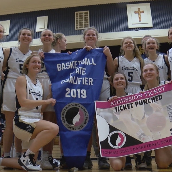 Heelan Punches their ticket to the state tournament