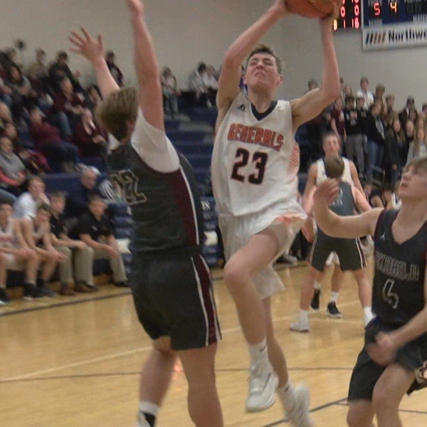 Monday's District Basketball