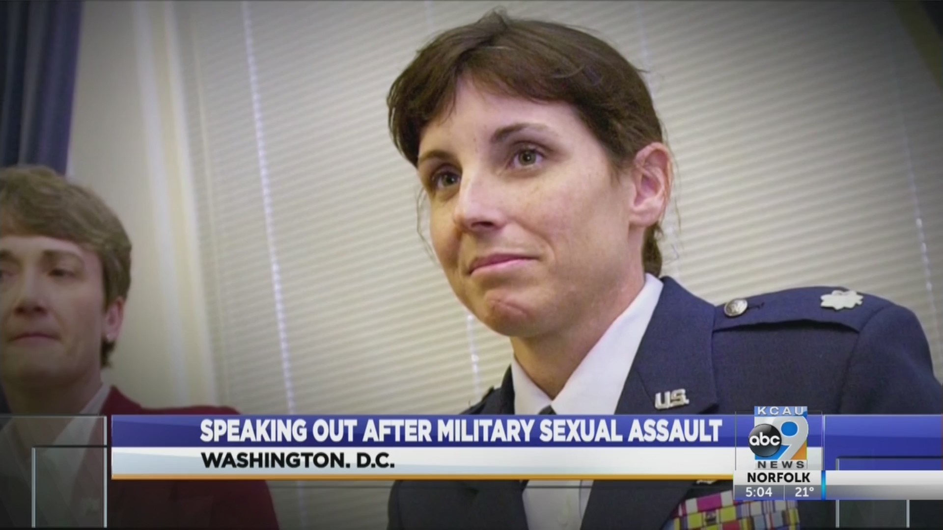 Speaking out after military sexual assault