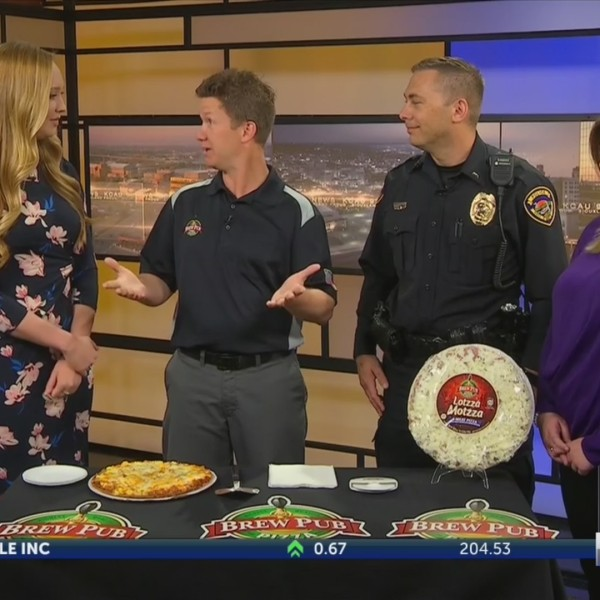 Pizza with Police Event