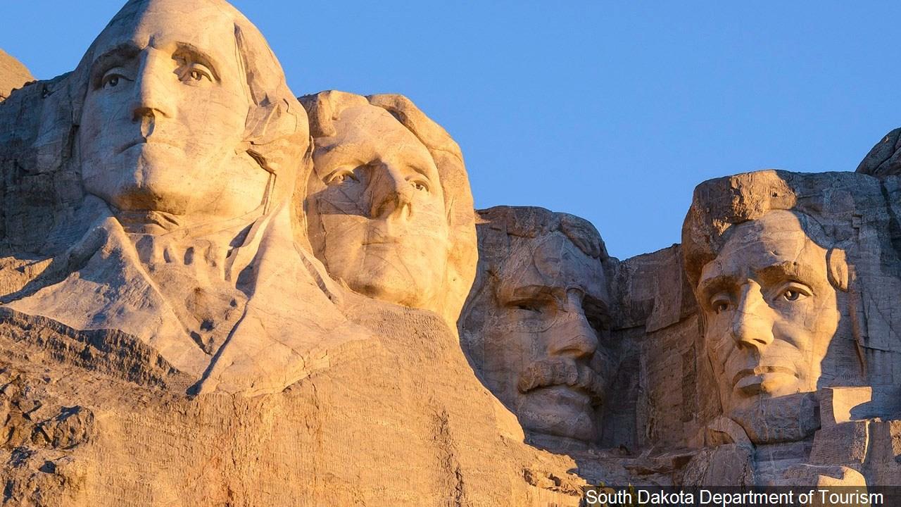 South Dakota, Mount Rushmore asdf