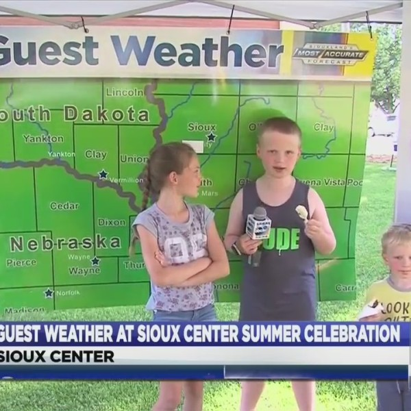 Guest Weather At Sioux Center Summer Celebration