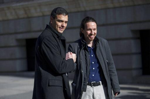Pedro Sanchez, Pablo Iglesias