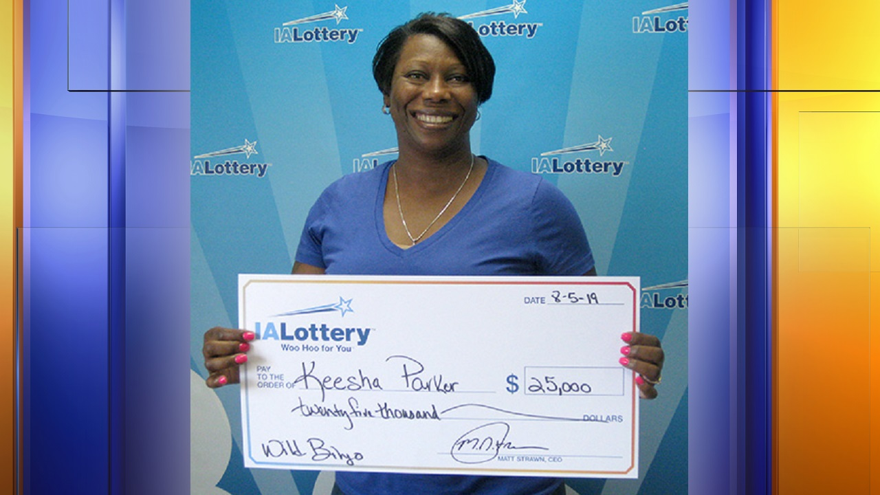Sioux City woman wins $25,000 from lottery ticket | SiouxlandProud