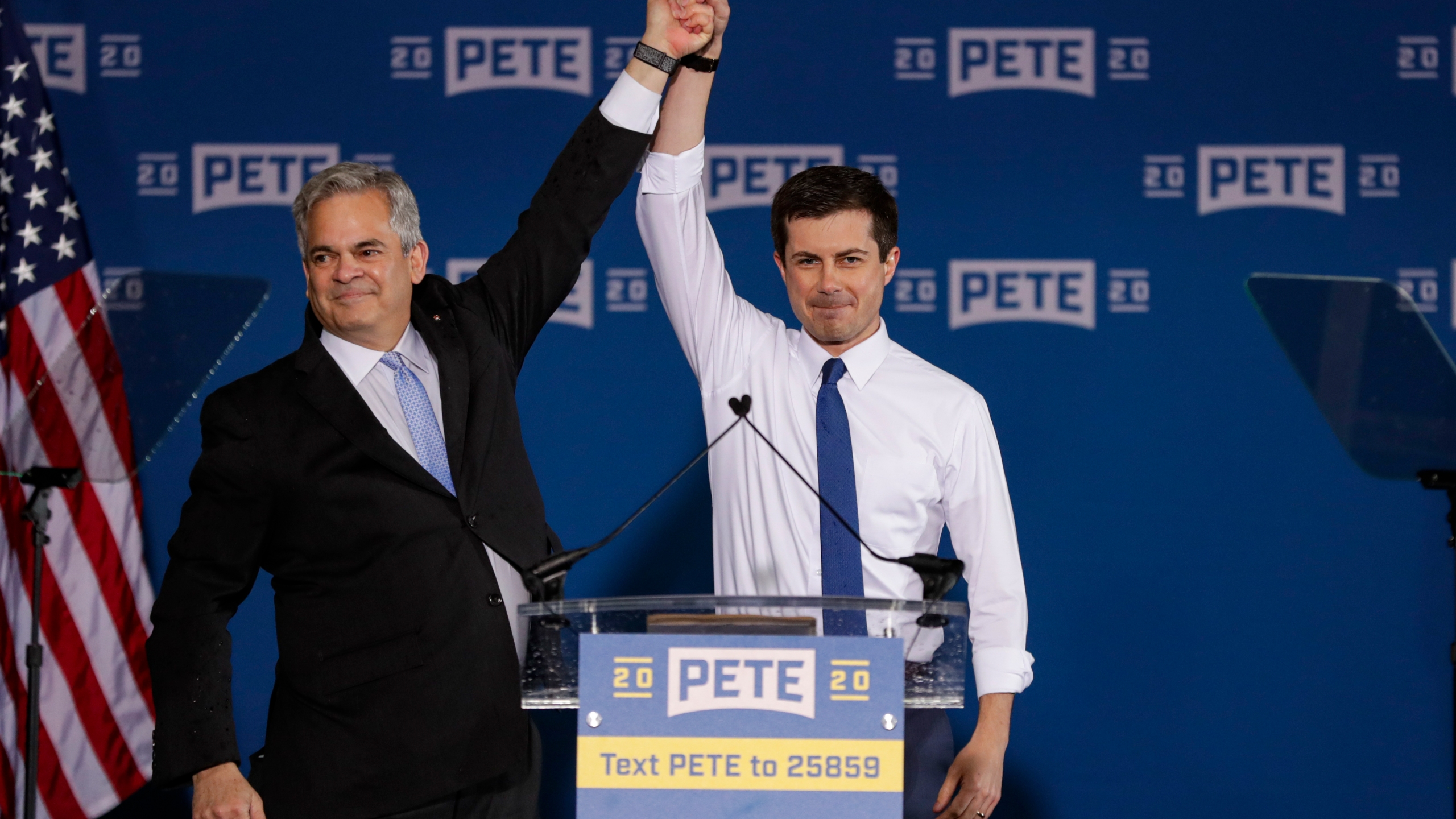 Pete Buttigieg, Steve Adler