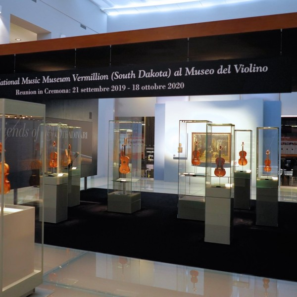 NMM display in Cremona, Italy