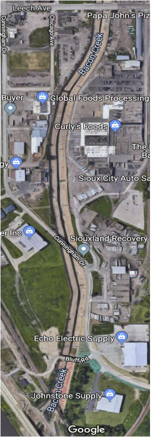 Bacon Creek Channel To Undergo Tracer Dye Test On Wednesday Siouxlandproud Sioux City Ia News Weather And Sports