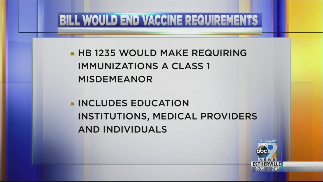 South Dakota House bill would end vaccine requirements in schools