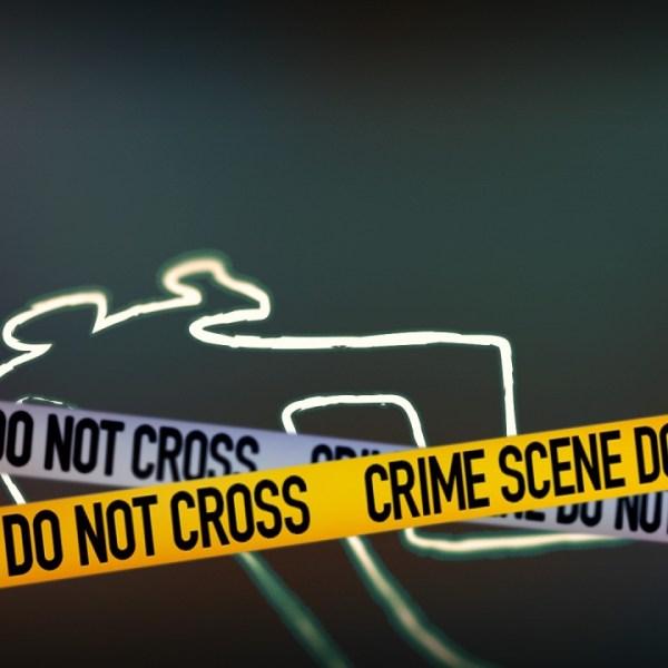 body found crime scene tape