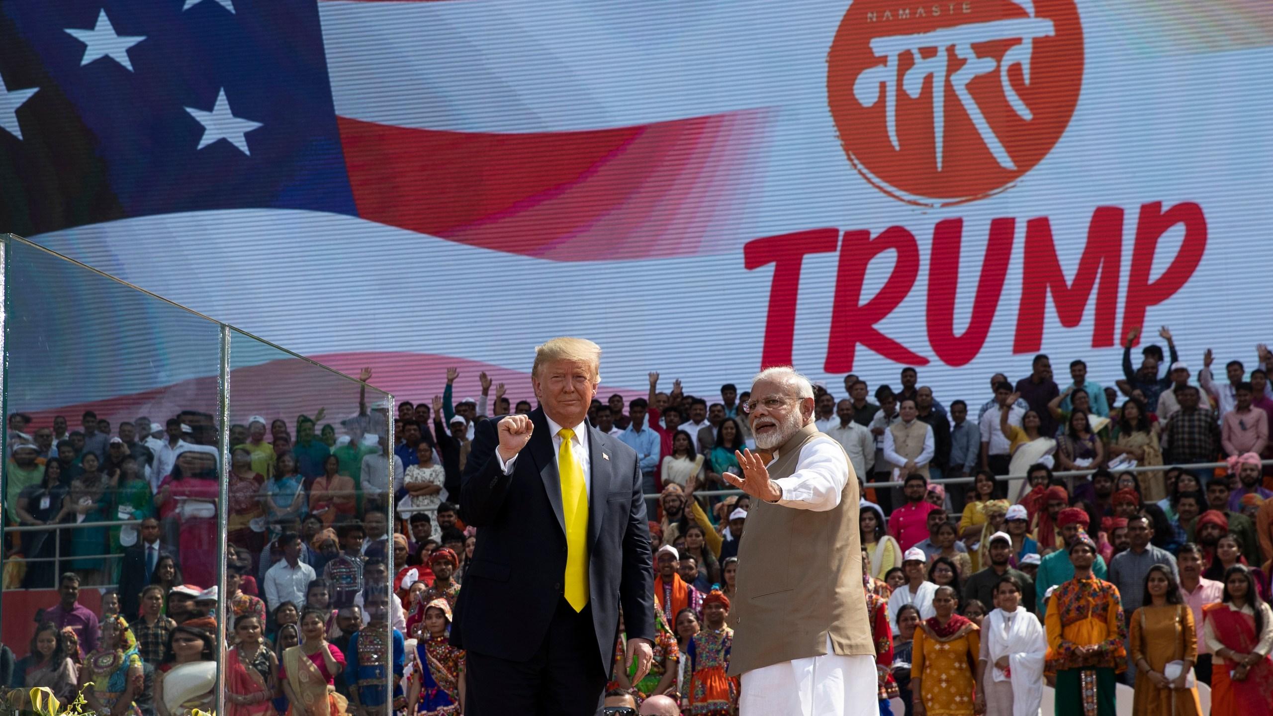 Donald Trump, Narendra Modi