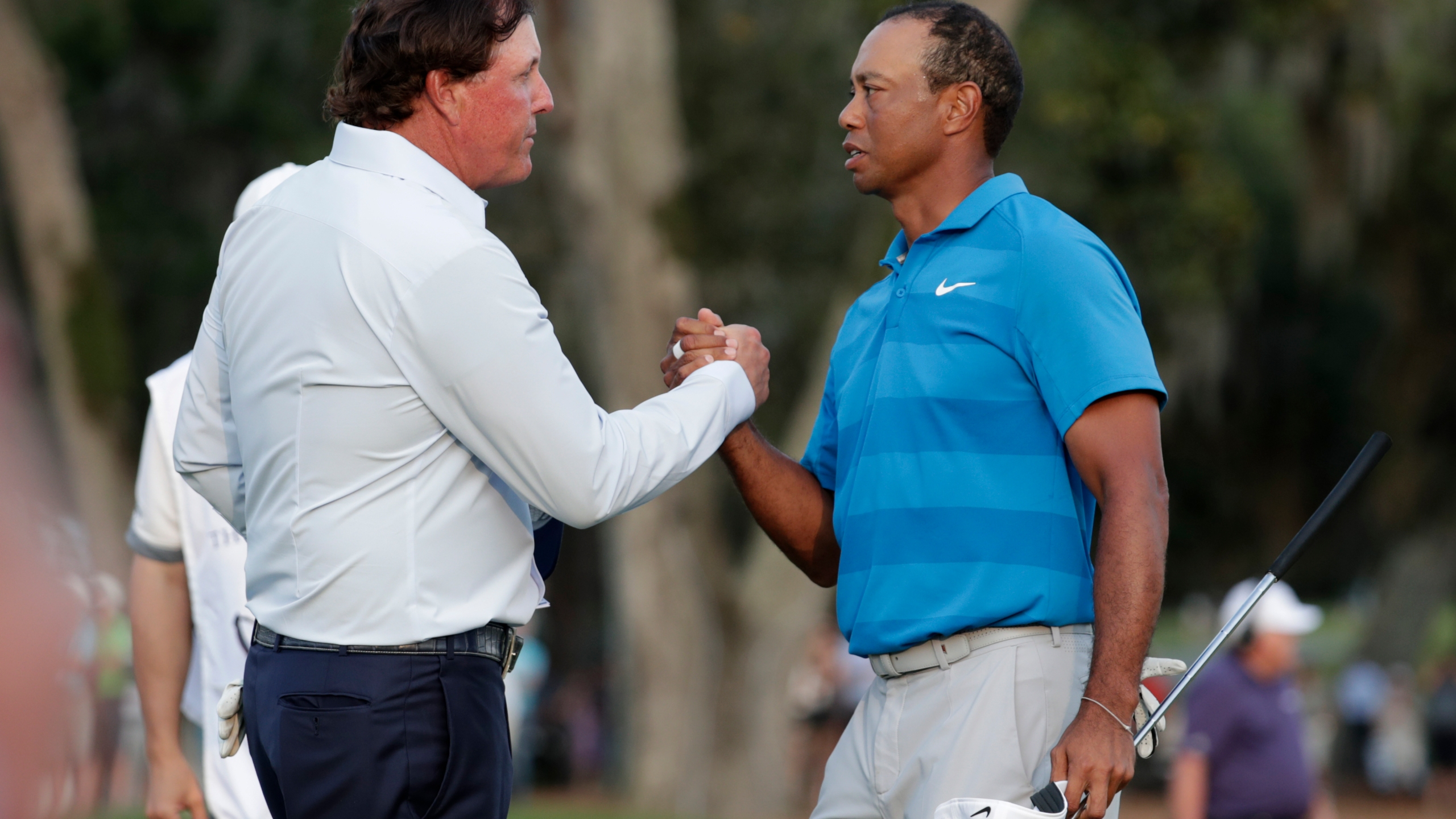 Phil Mickelson, Tiger Woods
