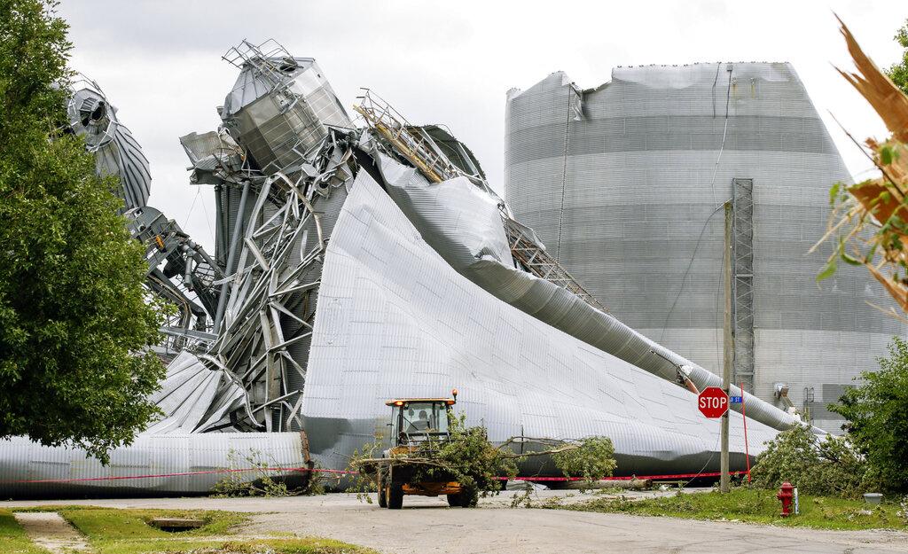 iowa storm crop damage 8.10.20 AP-ed
