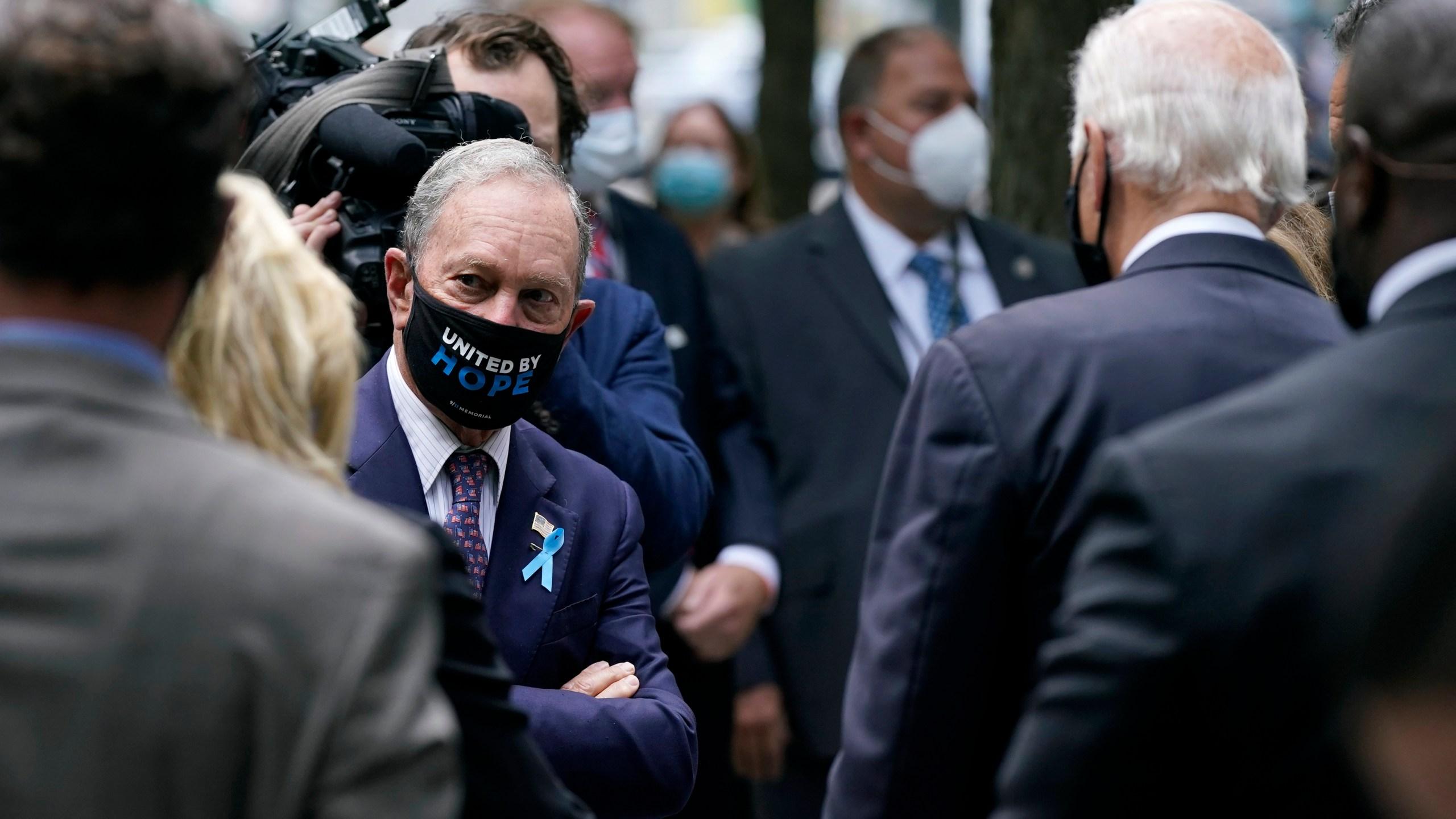 Mike Bloomberg, Joe Biden
