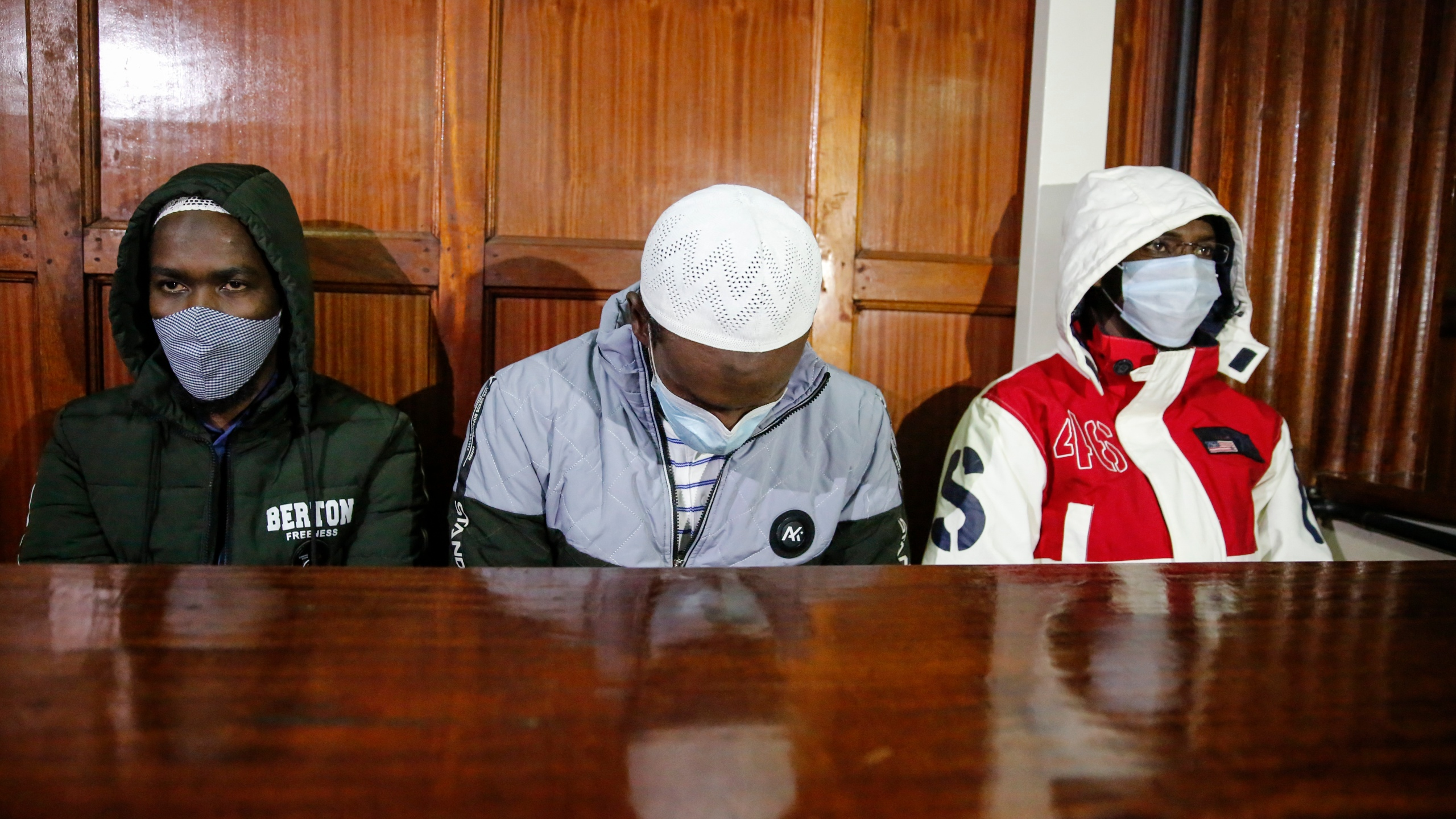 Hussein Hassan Mustafah, Liban Abdullah Omar, Mohamed Ahmed Abdi