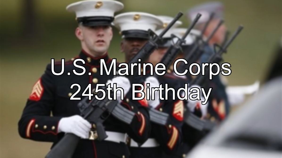 Celebrating The U S Marine Corps 245th Birthday Goodfellow Air Force Base Article Display