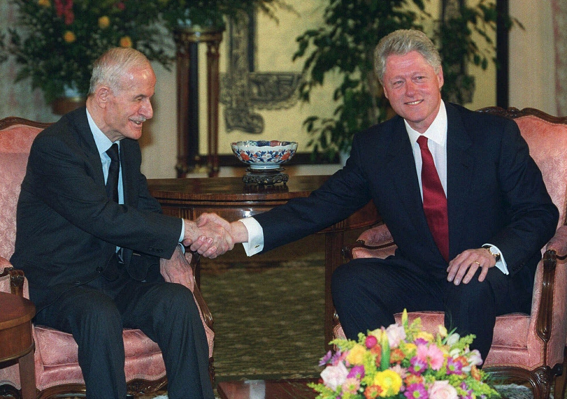 Hafez Assad, Bill Clinton