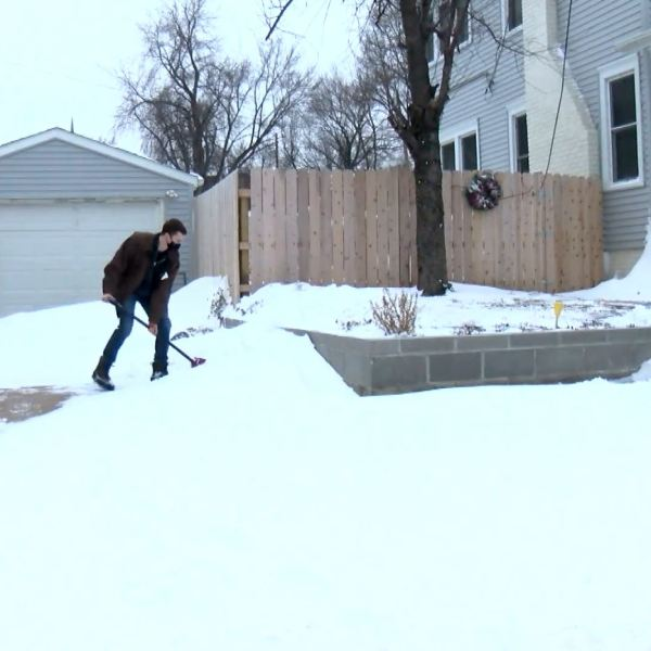 siouxland stories,shovel,snow,