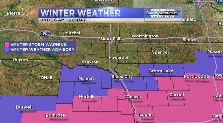 Winter weather advisory, winter storm warning, winter weather, snow, snow storm