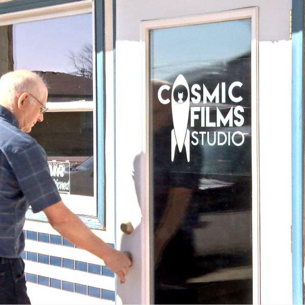 Bill Hedges,Cosmic films studio,lyons, Neb.